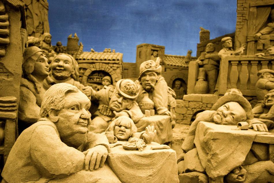 Presepi di sabbia_Lignano e Jesolo