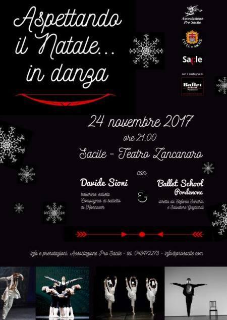 Ballo di danza classica Aspettando il Natale Teatro Zancanaro