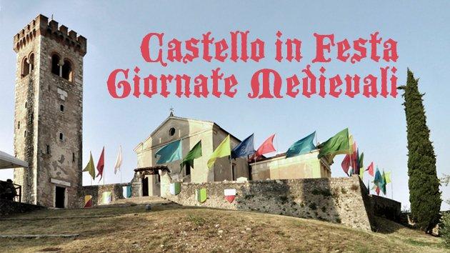 Festa medievale in castello di Caneva Friuli