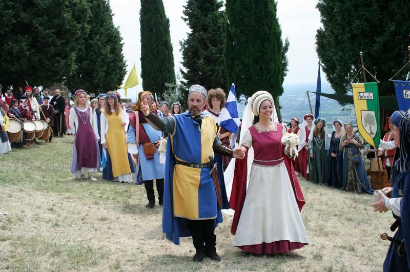 Festa medievale in castello di Caneva Pordenone Friuli