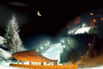 Tarvisio_Lussari_by_night