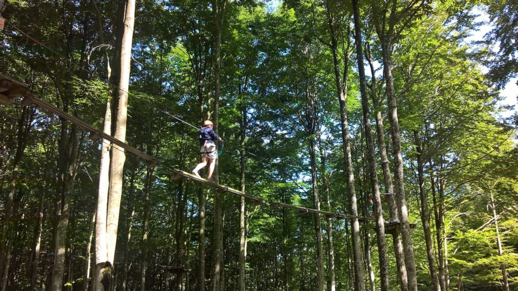 Rampy Park parco acrobatico forestale Piancavallo