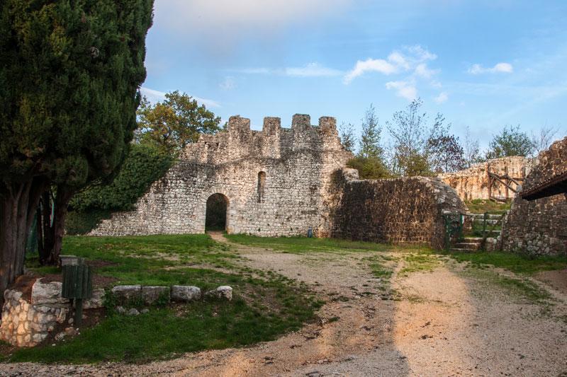 Pasquetta in castello di Caneva