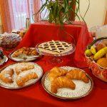 Buffet sala colazione Le Favole agriturismo