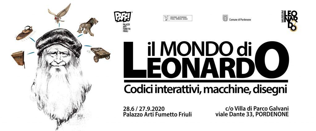 Il mondo di Leonardo mostra PAFF Pordenone