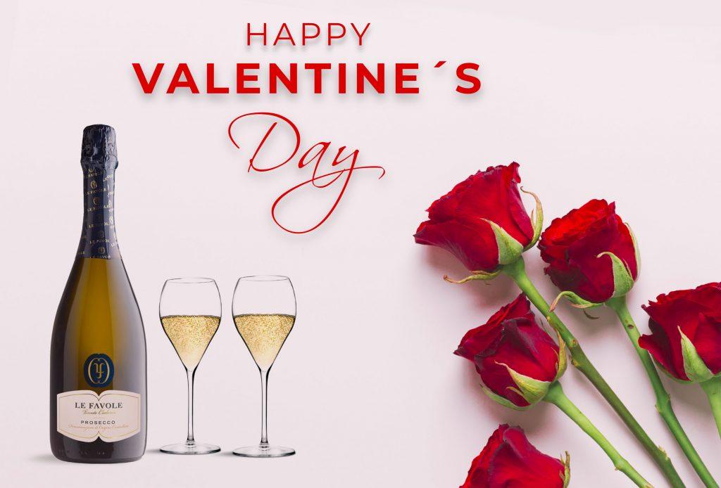 Drink di benvenuto Prosecco pacchetto san valentino
