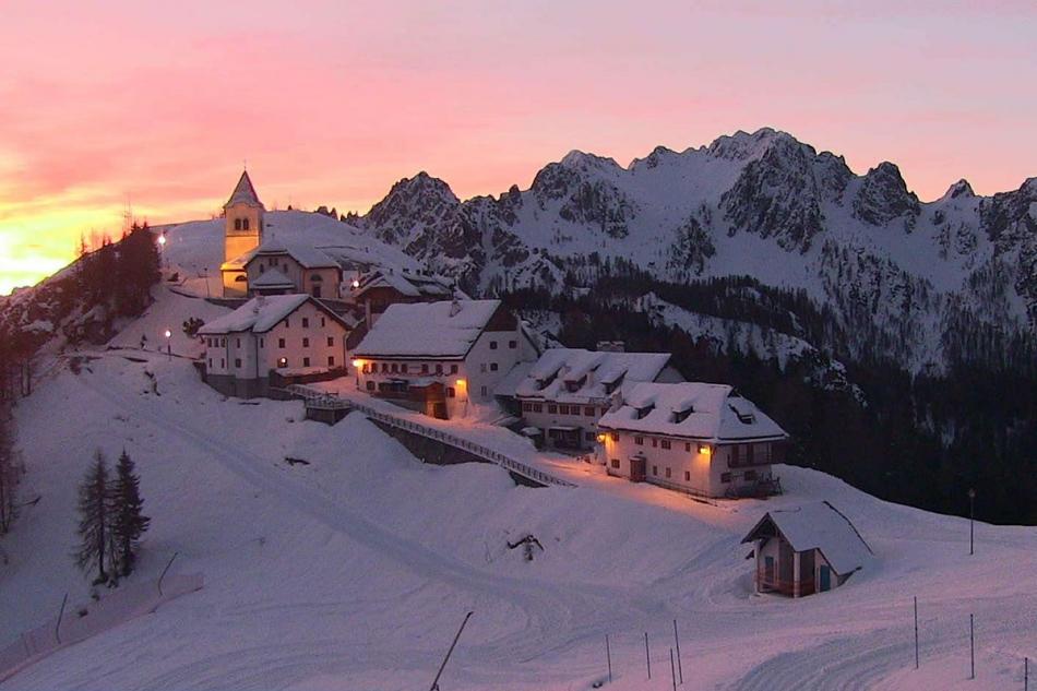 Monte Lussari inverno